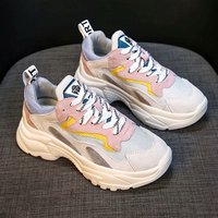 Woman Casual Shoes 2018 Autumn Women Sneakers Fashion Flats Women Breathable Lace Up Sneakers Platform Shoes Chaussure Femme