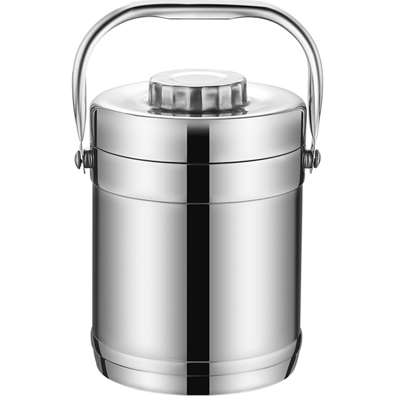 Double Wall Stainless Steel Vacuum Thermo Heated Lunch Box Containers Kids Adult School Student Large Food Bento Box Portable in Lunch Boxes from Home Garden