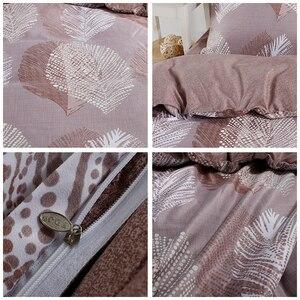 Image 5 - Alanna kraliçe nevresim takımı aydınlık yorgan euro pastel levhalar yatak çarşafı kral çift kişilik yatak örtüsü yatak örtüsü seti