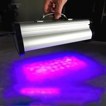 400 Вт светодиодный портативная УФ коллоидная лампа для отверждения фотолампы 395nm cob УФ светодиодный лампа