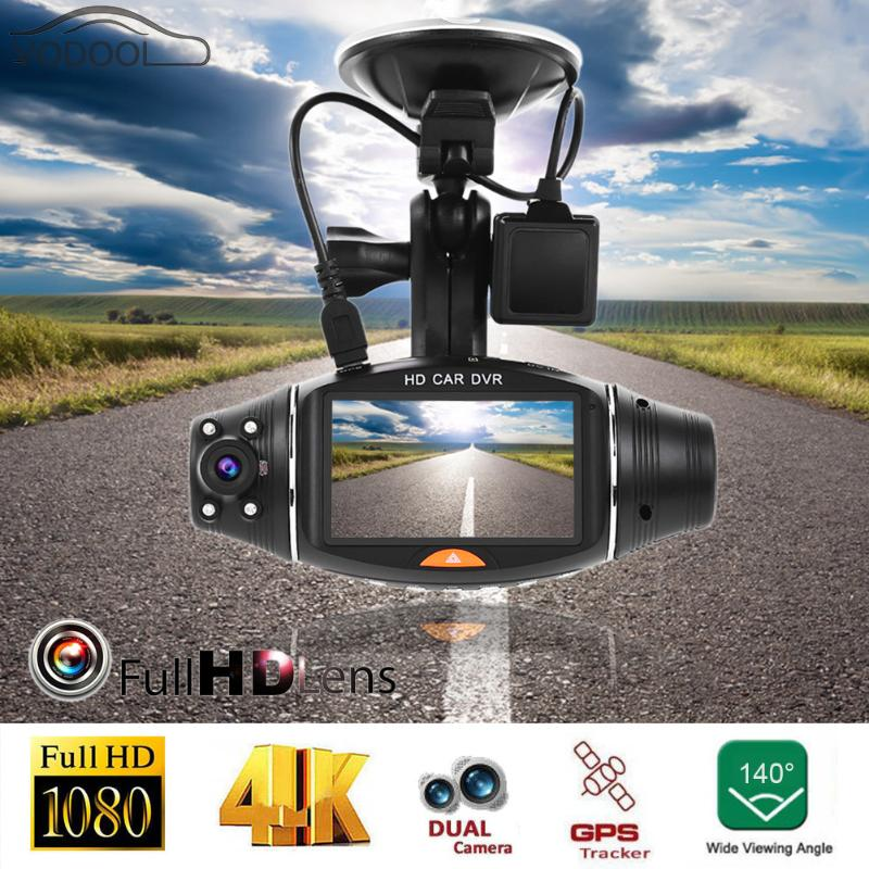 2.7 High Definition Dual Lens Car DVR Camera 140 Degree Digital Video Recorder GPS Logger Night Vision Auto Dash Cam Camcorder the jayhawks the jayhawks mockingbird time cd dvd