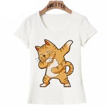 6e69aa26 Hip Hop Dabbing Cat Shirt Funny Cats meme Kitty Dab Cat Lover Gifts T-Shirt