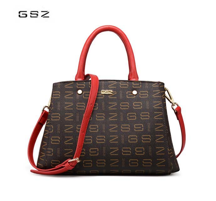 GSZ brand leather business woman bag New Tot high-capacity ladies shoulder bag Casual brown woman messenger bag free shipping fmbz leather women s bag 2018 new soft leather large capacity ladies woman handbag casual shoulder messenger bag free shipping