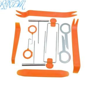 12 pcs/Set Auto Pry Open Tool Kit Car Radio Door Clip Panel Kit For Audi A1 8P 8I 8V A2 A3 A4 A5 A6 A7 A8 B5 B6 B7 B8 Q3 Q5 Q7(China)