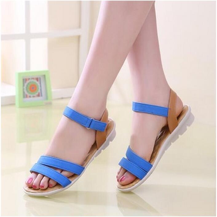 Students New Tendon Women's Of Sandals Us16 Flat End Soft Bottom Sandal 92016 Women Summer Female In Heel From 08nPwOkX