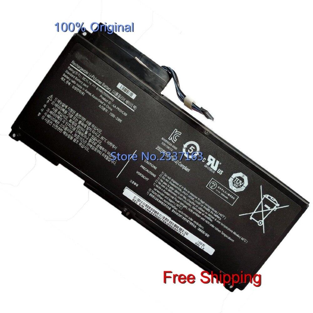 IECWANX 100% new Laptop Battery AA-PN3VC6B (11.21V 61WH 5500mAh) for Samsung NP-SF310 QX410-J01 QX411 QX412 BA43-00270A