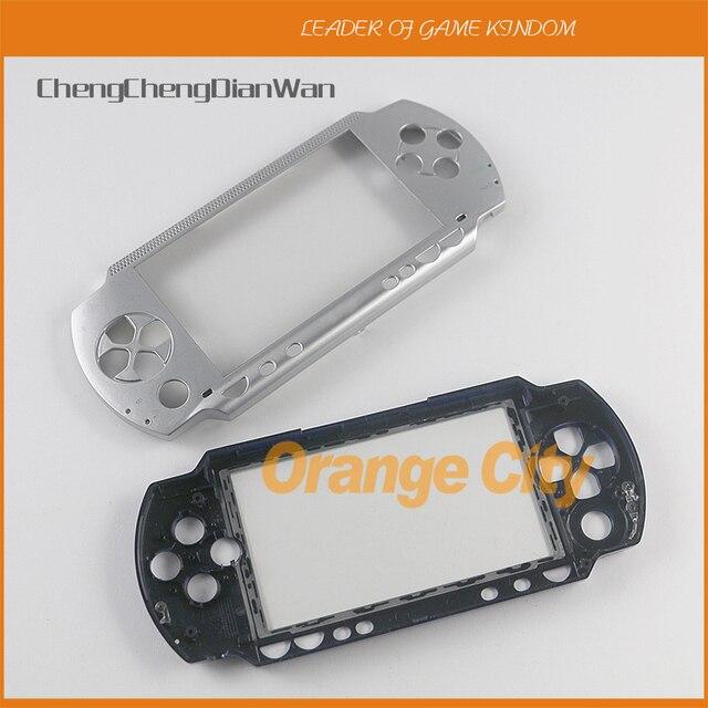 Hàng Đầu Trên Mặt Trước Mặt Vỏ Bao Da Ốp Lưng Thay Thế Cho Máy PSP 1000 1001 Mỡ Mặt Dành Cho PSP1000 Mỡ