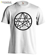Cthulhu Necronomicon H P Lovecraft Deep Old Ones Sigil Geek T-shirt Tee New T Shirts Funny Tops Tee New Unisex Funny Tops h p lovecraft the terrible old man