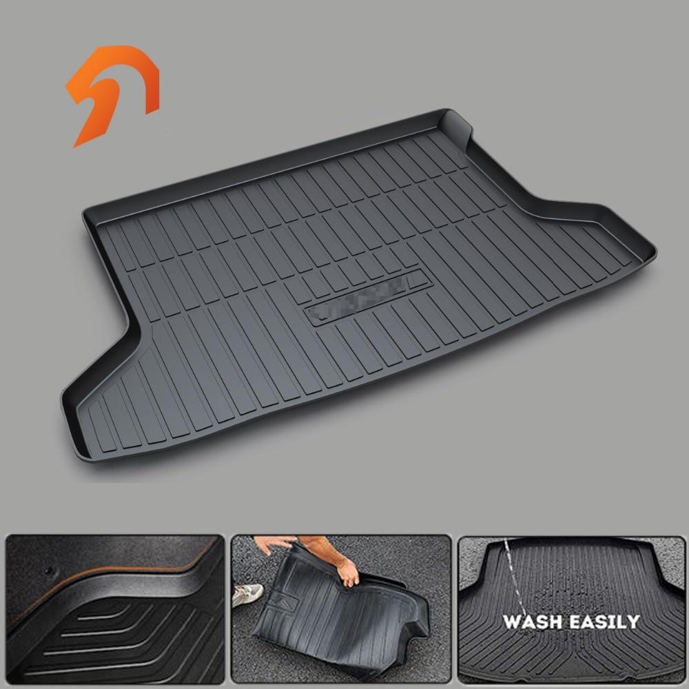 Custom fit car trunk mat for HONDA BRV VEZEL Hybrid Hybrid SPIRIOR BOOT LINER REAR TRUNK CARGO MAT FLOOR TRAY CARPET MUD COVER