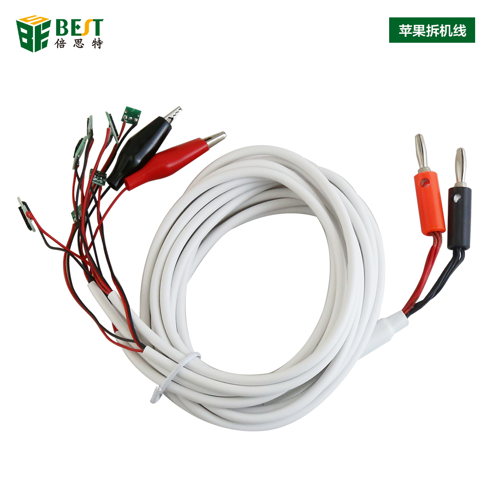 BEST 6 in 1 Professional DC Power Supply Phone Current Test Cable for iPhone 6 Plus 5S 5 4S 4 Repair Tools