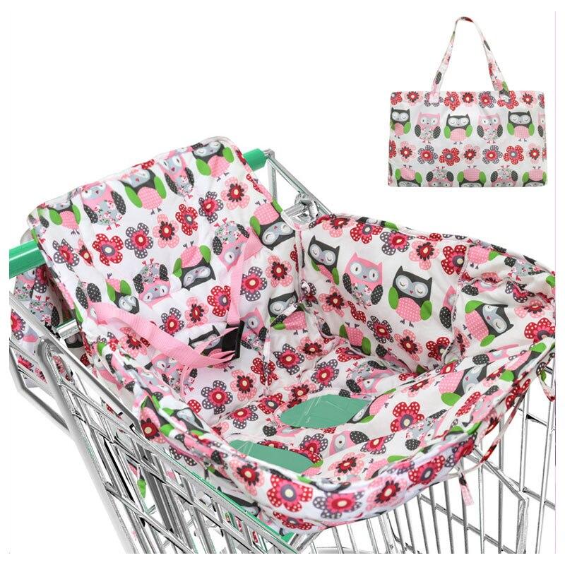 Bébé infantile supermarché panier coussin coussin Protection enfant panier couvre pour bébé Shopping chariot couverture