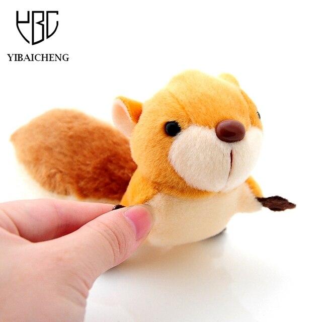 8 cm bella coda di scoiattolo peluche peluche di grandi dimensioni