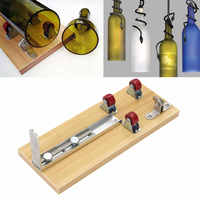 Safety Glass Bottles Cutter Machine Cutting Tool For Wine Beer Bottles Multi Function Bottle Opener DIY
