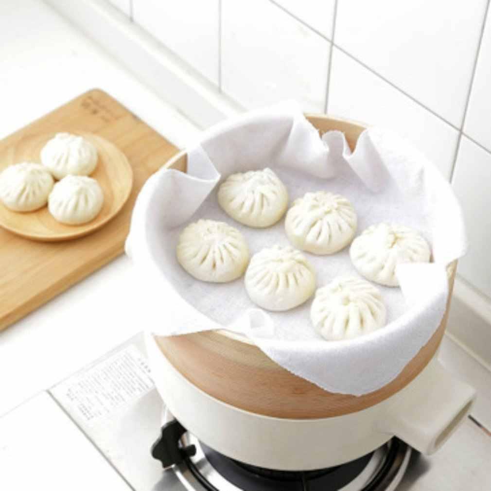 Estilo japonês de Algodão Toalhas de Pano Steamer Gaiola Pano Vapor Bolos Cozinhados Bolinhos Cozidos No Vapor Buns Pano