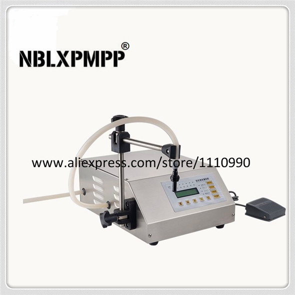 NBLXPMPP Lowest Factory Price Highest Quality GFK-160 Digital Control Small Portable Electric Liquid Water Filling Machine