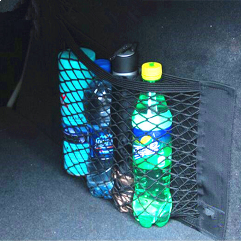 Car Trunk luggage Net For Ford Focus 2 3 Fiesta Mondeo Kuga Citroen C4 C5 C3 Skoda Octavia 2 A7 A5 Rapid Fabia Accessories