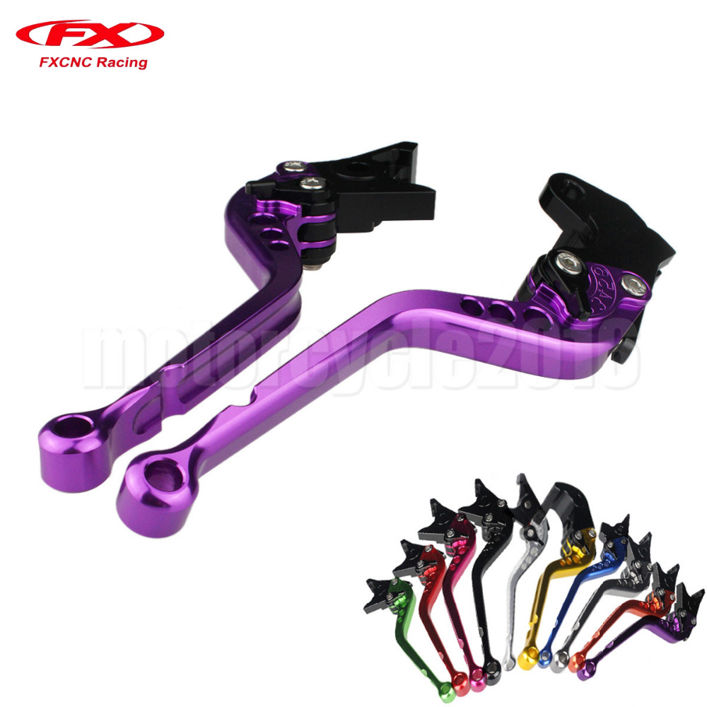 FXCNC Aluminum Adjustable Moto Motorcycle Brake Clutch Levers For Yamaha FJR 1300 2004-2016 05 06 07 08 09 10 11 12 13 14 15 motofans cnc clutch brake levers adjuster for moto guzzi stelvio 2008 2015 norge 1200 gt8v griso 06 07 08 09 10 11 12 13 14 15