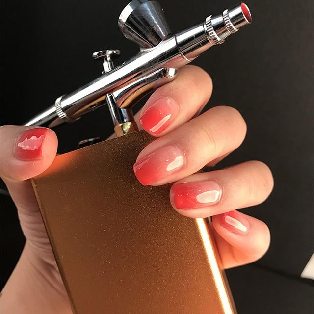 Dual Action Airbrush Multi Function Air Brush Kit Spray Gun For Nail