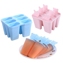 Dropshipping Bear With Lid Ice Tray DIY Popsicle Ice Cream Mold Ice Tr