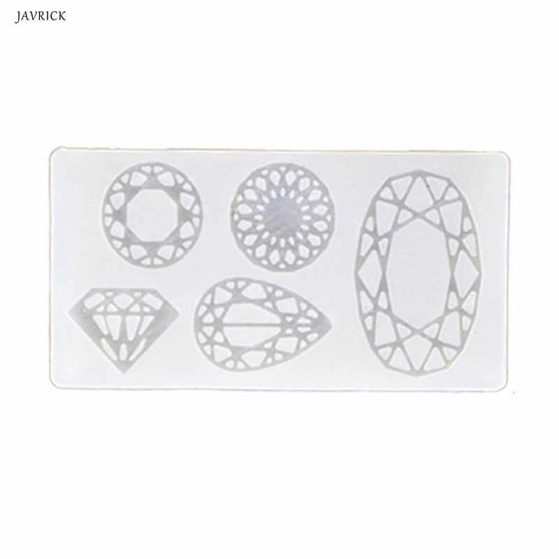 Resin Silikon Cetakan 6 Pcs 3D Catur Internasional Cetakan Resin Casing Perhiasan Cokelat Baking Alat