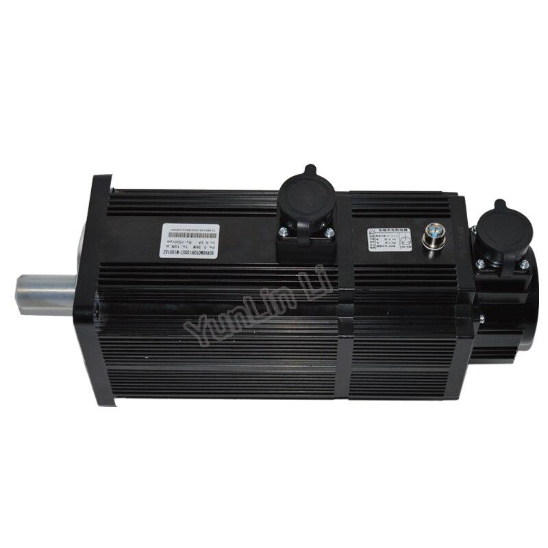 1 Set Servo Motor & Driver 2.3KW 15Nm 1500rpm 9.5A Servo Motor and Servo Driver System with Cable 130ST-M15015Z new original sgdm 15ada sgmgh 13aca61 200v 1 3kw servo system