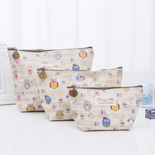 2019 New Creative Owl Pattern Women Makeup bag Cosmetic bags beauty