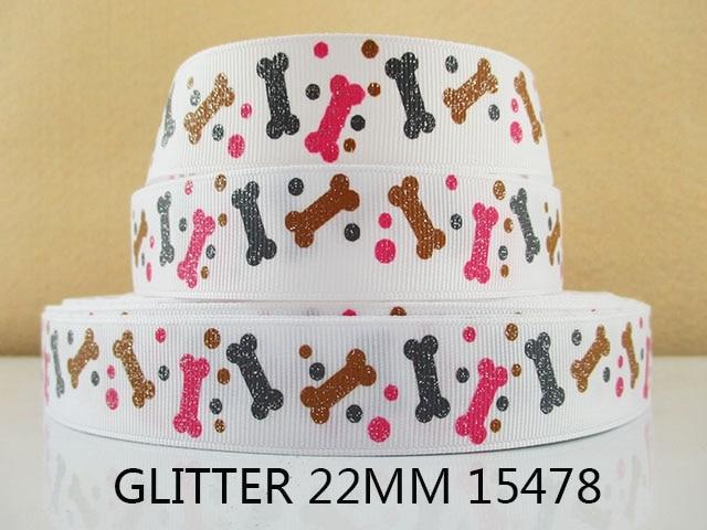 (5yds в рулоне) 5Y15478 лента 7/8 «блеск полиэстер печатается Grosgrain ленты diy головные уборы Подарок швейные принадлежности