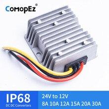 24 فولت إلى 12 فولت 8A 10A 12A 15A 20A 30A 120 واط التنحي DC DC محول 24 فولت إلى 12 فولت DC DC الجهد المنظم للسيارات الشمسية