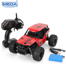 1:16 Remote Control Cars 2WD Electric Toys Truck 2.4G RC Racing Car with Metal Shell Shatter-proof Vehicle Toy for Children