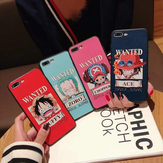 ONE PIECE THEMED IPHONE CASE (4 VARIAN)