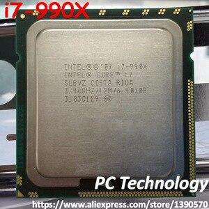 Image 1 - Orijinal Intel Core i7 990X İşlemci Extreme Edition i7 990X3.46 GHZ 6 Çekirdekli 12M Önbellek LGA1366 CPU 130W ücretsiz kargo