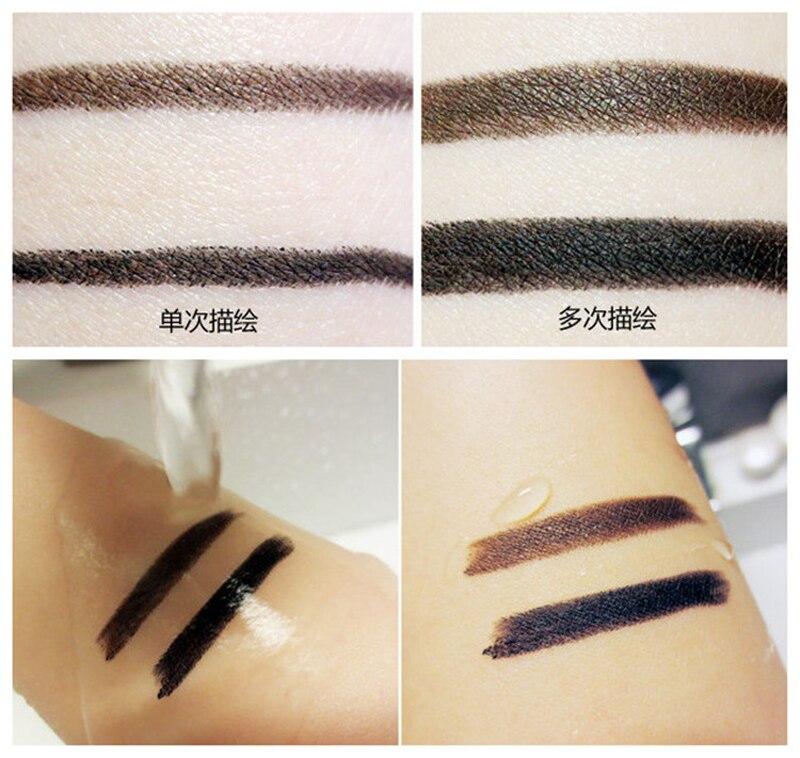Party Queen Brand 2017 New Eye Liner Pencil Makeup Long Lasting Waterproof Black Brown Color Pencil Eyeliner Gel
