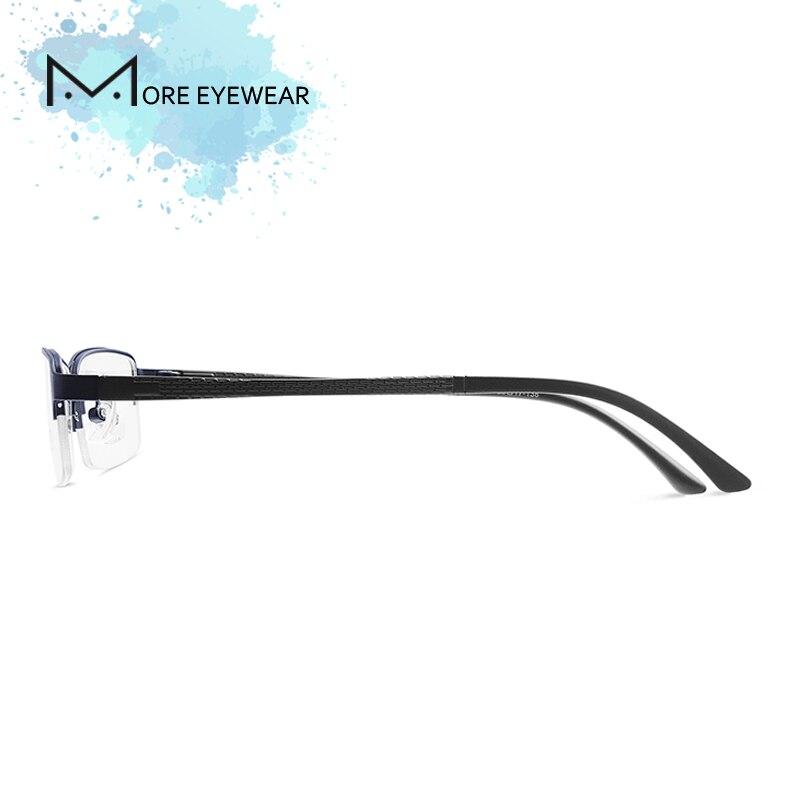 Schwarzes Legierung kaffee 70307 blau Größe Kleine Computer Gewicht Rahmen Brillen Mann Licht Gläser CC6qS