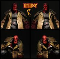 Hell Baron 2 Hellboy Hell Boy 6 Inch Super Movable Doll Model Toy MEZCO Ant Action Figure T68
