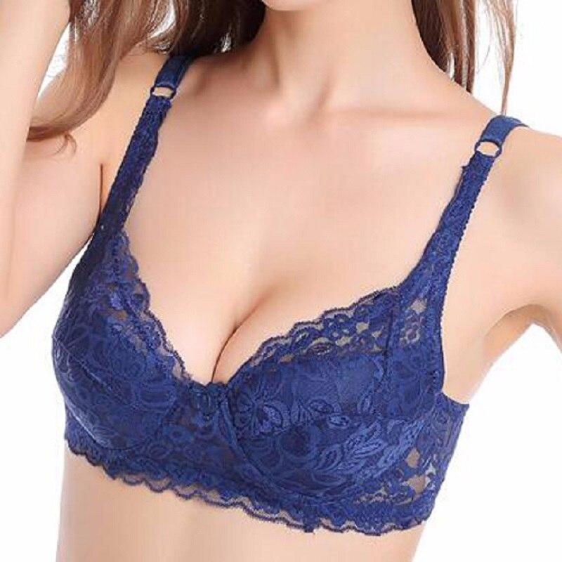 mode sexig stil Push Up BH Andas Spets BH Sexiga behåar för kvinnor Bralette modis underkläder tunn kopp dam