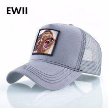 Gorra de béisbol ajustada de marca de hombres gorras snapback de mujer de  malla transpirable hip hop sombreros para hombres bord. 86cb670424b