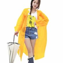Woman Raincoat Rainwear Waterproof Parka Poncho Impermeable Awning Capa Wiche  Rain Coat Raincoat Cloaks For Women DDGZ96