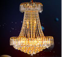 Free Shipping Golden Prompt Shipping Royal Empire Gold Crystal Chandelier Light French Crystal Lights