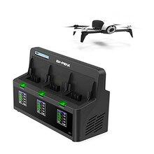 DP2 EV-PEAK 3 Saluran 35 W/CH 3.5A/CH Bebop Drone 2 Charger Baterai dengan Keseimbangan 400mA Saat Ini Menjadi yang pertama untuk meninjau item ini