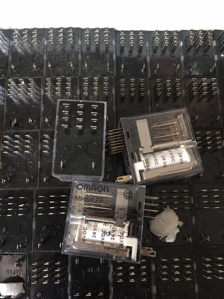 24V relay MHS4ZP 24VDC MHS4ZP-24VDC DC24V 24V 14PIN relay sf4d dc24v sf4ddc24v dc24v 24v 24vdc 5a 250vac 14pin