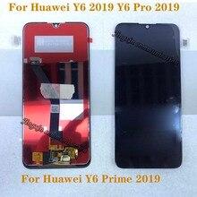 6,01 neue LCD Für Huawei Y6 PRO 2019 Y6 Prime 2019 LCD touch screen digitizer Montage für Y6 2019 display Reparatur kit