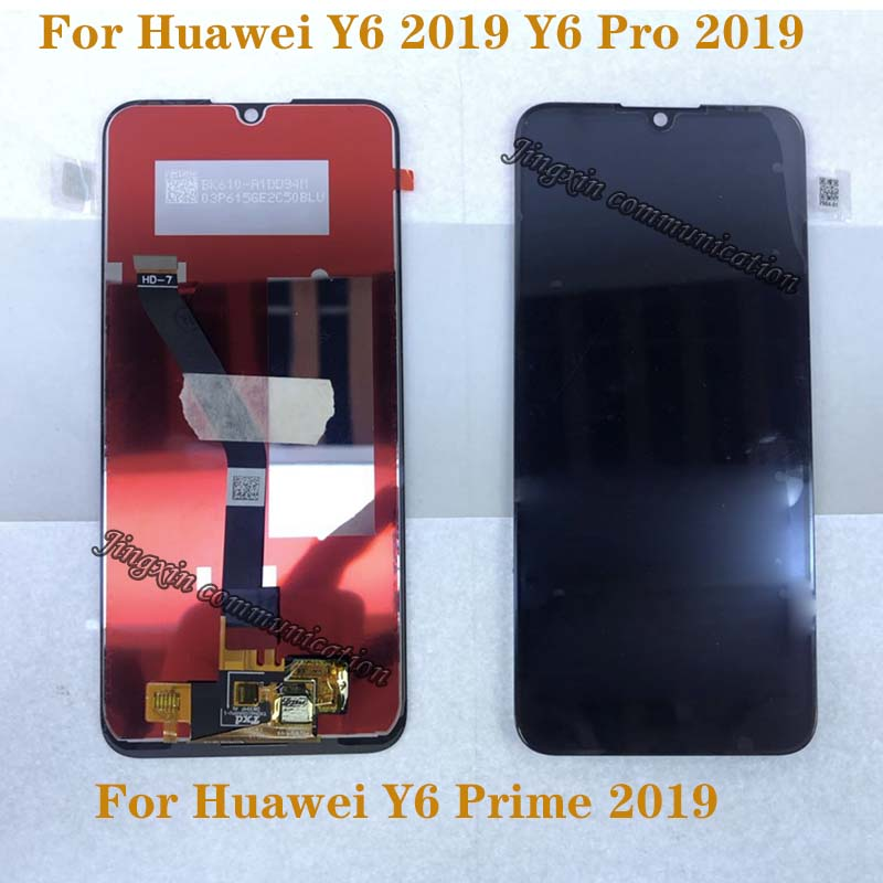 6.01'' new LCD For Huawei Y6 PRO 2019 Y6 Prime 2019 LCD touch screen digitizer Assembly for Y6 2019 display Repair kit-in Mobile Phone LCD Screens from Cellphones & Telecommunications
