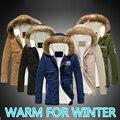 Invierno chaqueta hombre 2016 parkas masculinos casuais casaco Quente Militar anorak Outwear manteau homme Homem Homens Jaqueta de Inverno Térmica