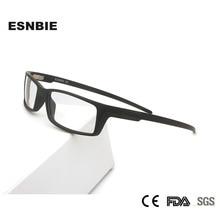 TR90 di Titanio di Plastica Piazza Vintage Mens Occhiali Da Vista Frames Ultralight Occhiali da vista Sport Avvolgere Occhiali Per Gli Uomini Nerd Lente