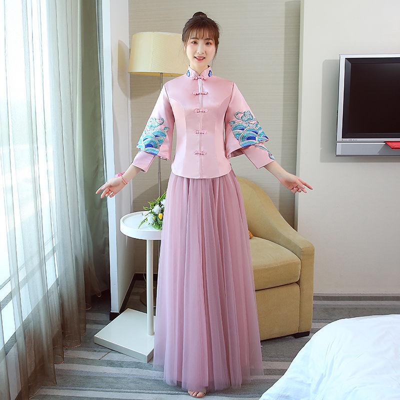 25449b4b4f5 Buy pink cheongsam and get free shipping on AliExpress.com