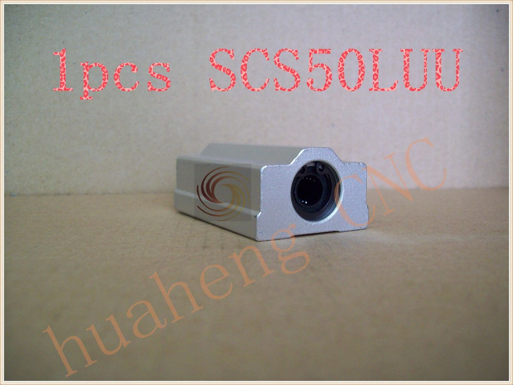 SC50LUU SCS50LUU bearing 50mm linear bearing slide block for 50mm rod round shaft XYZ Table CNC 1pcs стоимость
