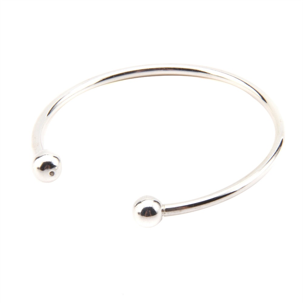 cuff in from open solid s sterling licliz item adjustable bracelets plain wide simple bangle women bangles silver men bracelet