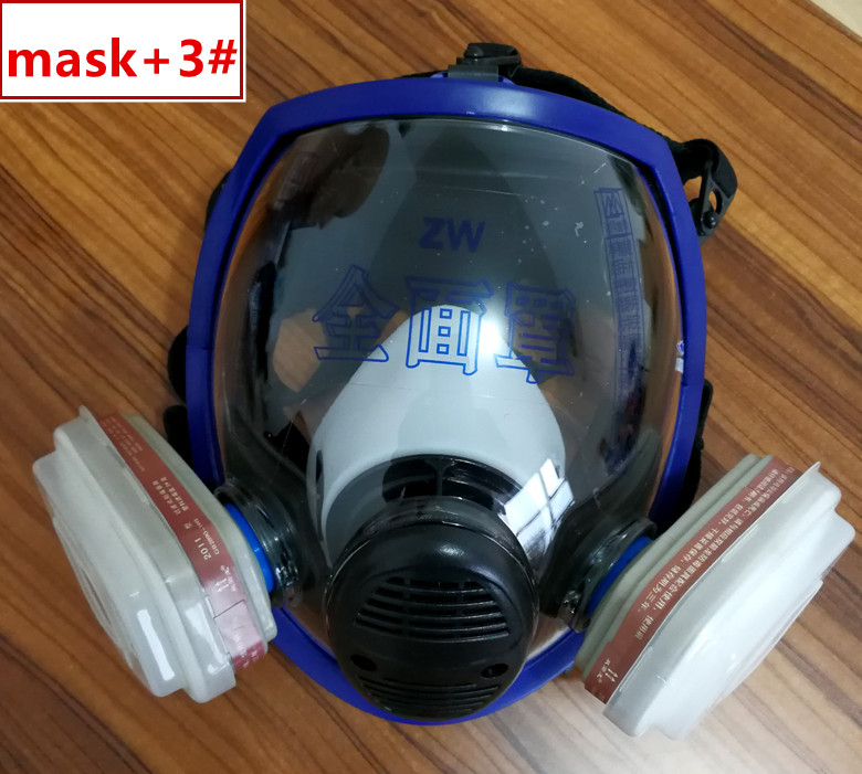 Sjl Full Facepiece Respirator Painting Spraying Mask For 6800 Gas Mask Festive & Party Supplies