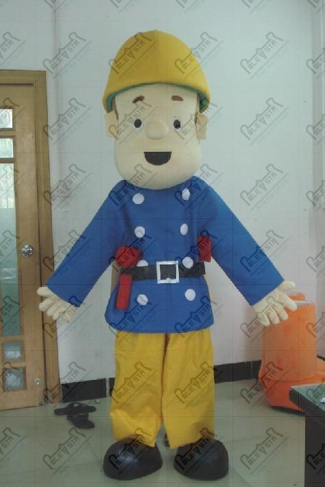 Bande dessinée pompier Sam mascotte costumes pompier costumes constructeur costumes