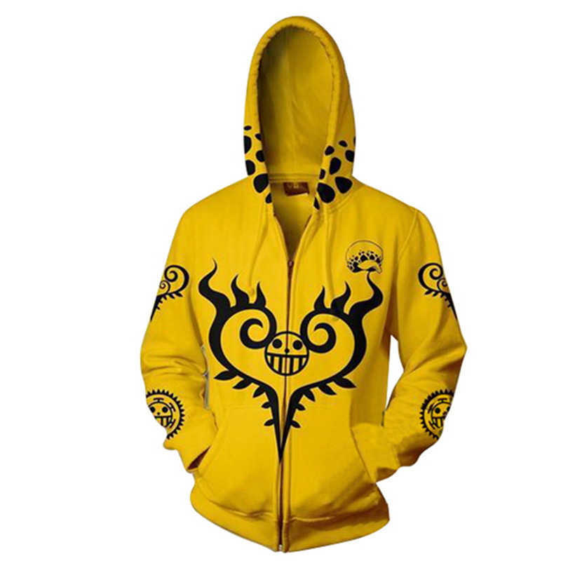 Image 5 - 3d Digital Printing ONE PIECE Trafalgar Law Costume Hoodie Cosplay Sweatshirts Clothing Costumes-in Movie & TV costumes from Novelty & Special Use